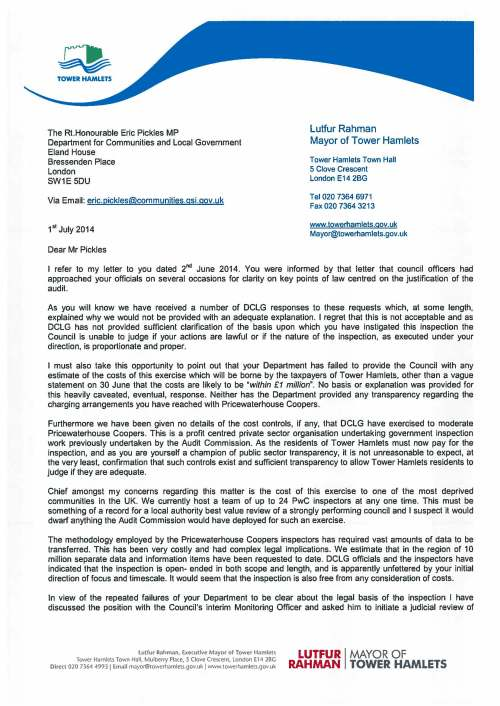 Letter to Rt Hon Eric Pickles - 1 July 2014_Page_1