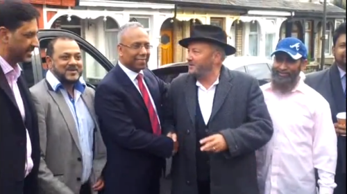 Lutfur rahman, george galloway