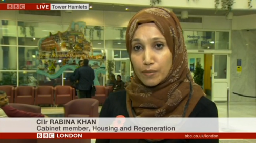Rabina kahn, tower hamlets