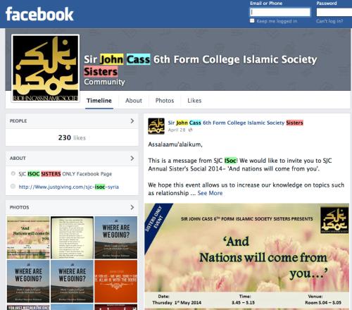 SJC ISOC Facebook